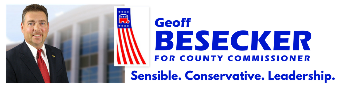 Besecker for County Comissioner header image