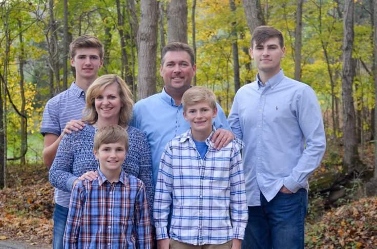 Besecker Family - woods